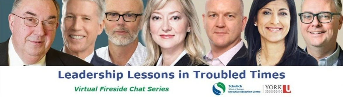 Leadership Lessons in Troubled Times