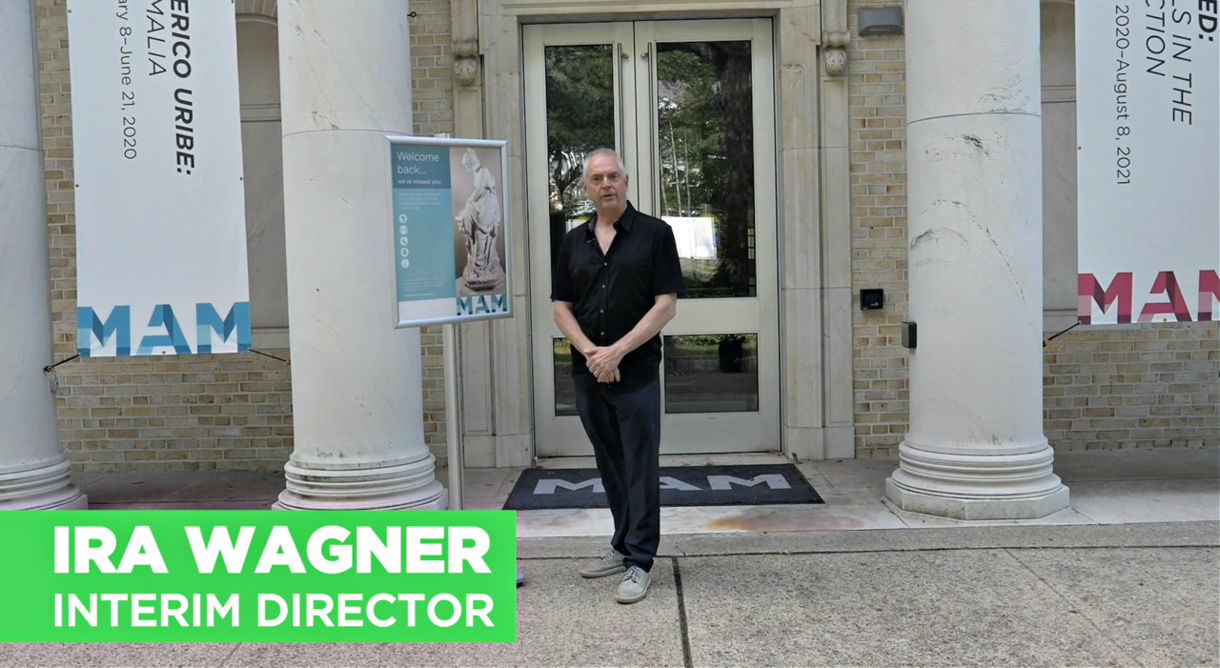 Iraa Wagner, Interim Director, MAM reopening video