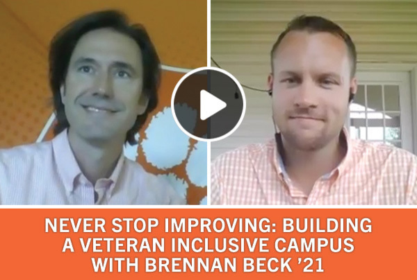 Never Stop Improving: Building A Veteran Inclusive Campus with Brenna Beck '21
