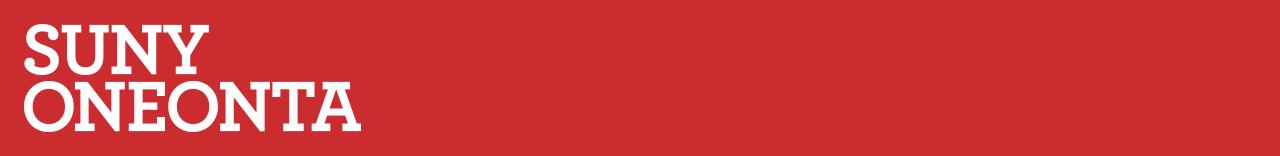 SUNY Oneonta Type Logo