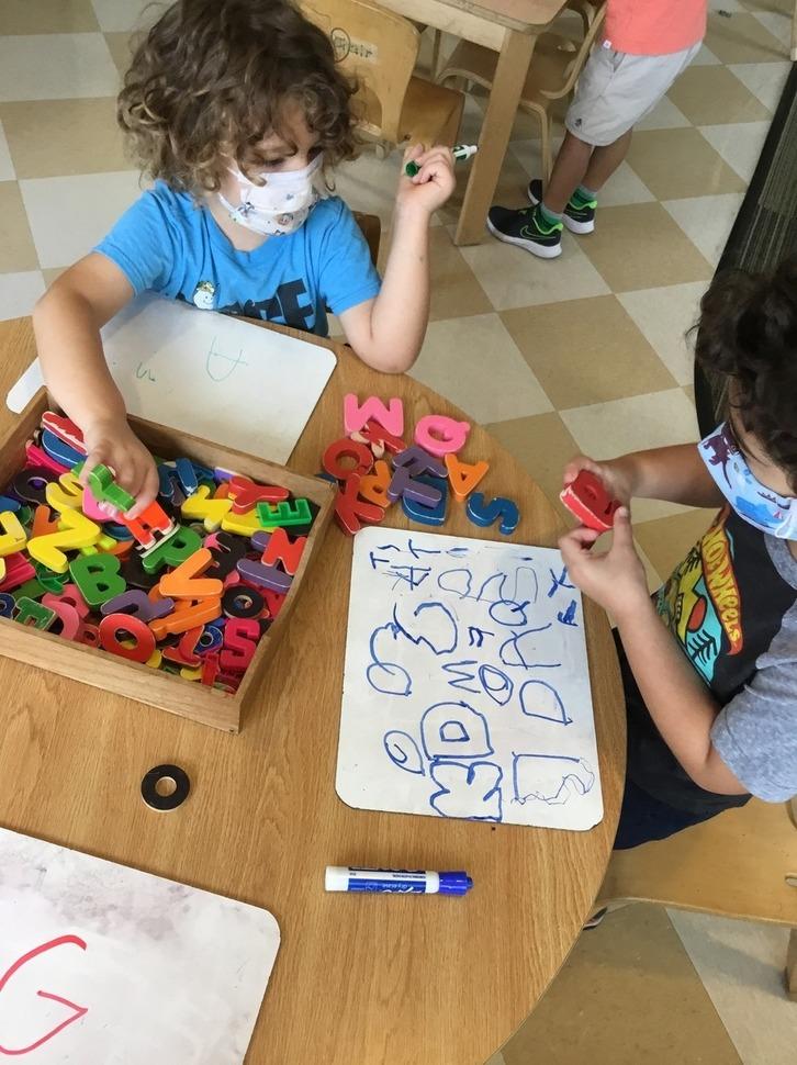 Preschool 2 at play