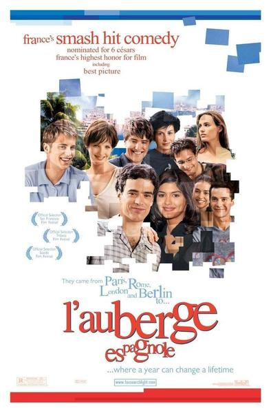 movie poster for l'auberge espagnole
