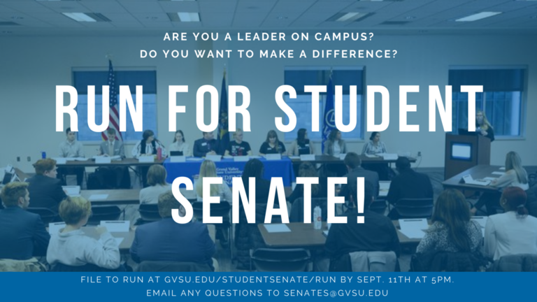 Run for Student Senate!