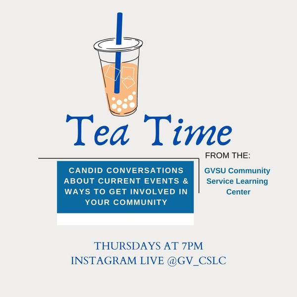Tea Time: Candid conversations about current events and ways to get involved in your community