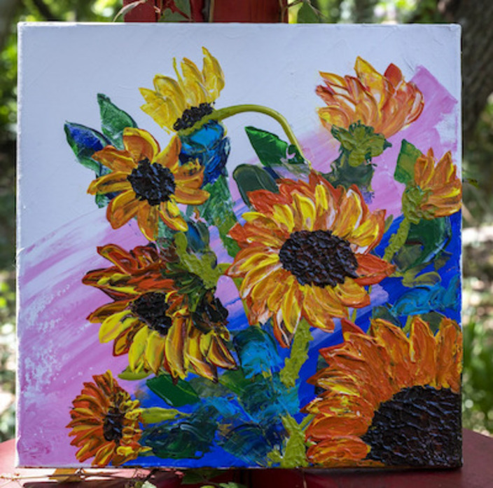ENTER TO WIN AN ANGIE HUNT PAINTING TODAY