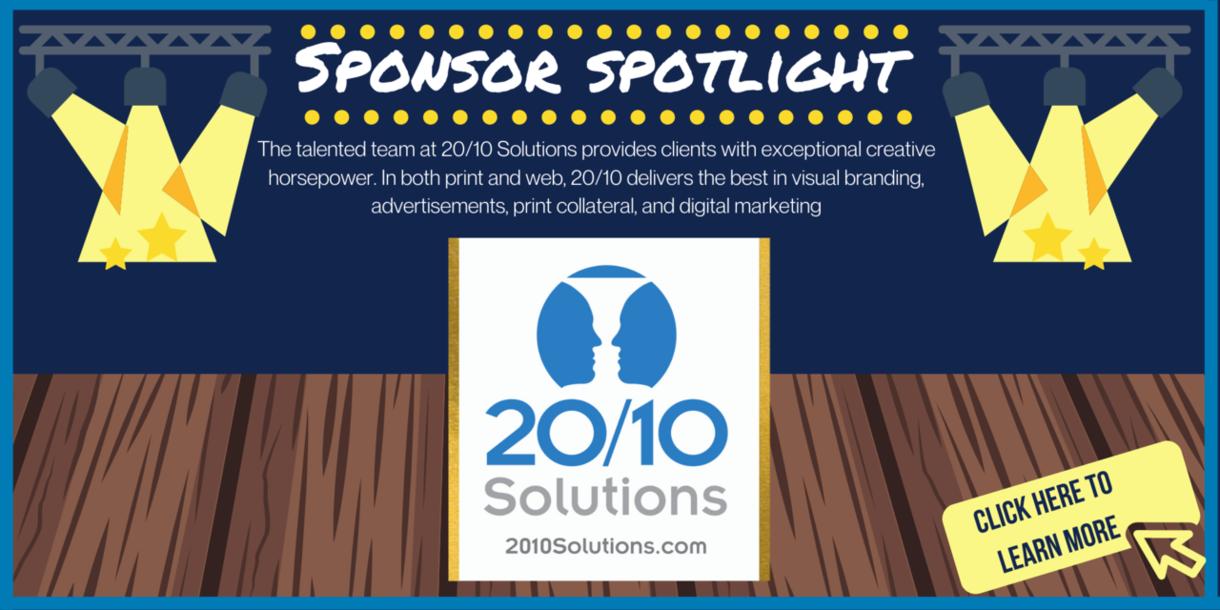 Sponsor Spotlight - THANK YOU 20/10 Solutions