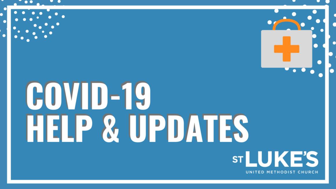COVID updates webpage