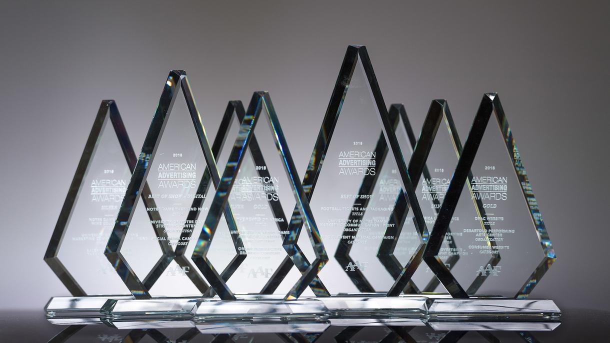 Photo of Addy awards