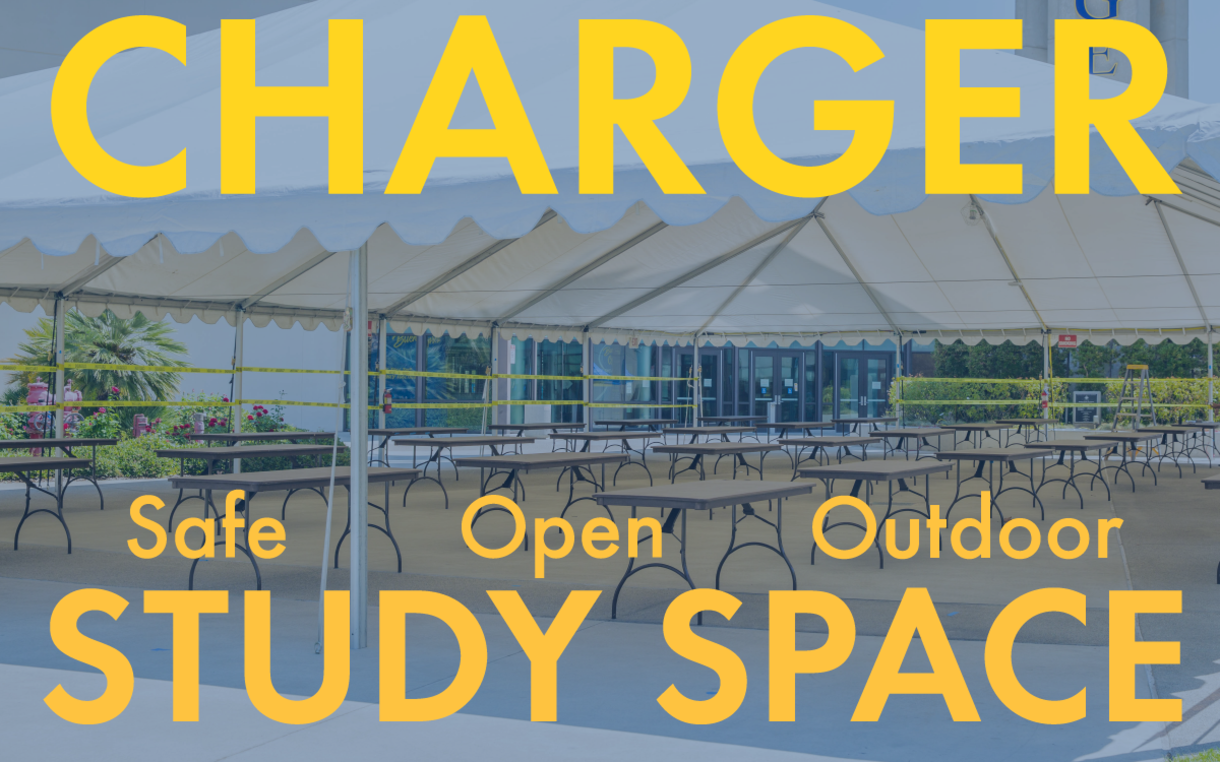 Charger Study Space: Safe, Open, Outdoor