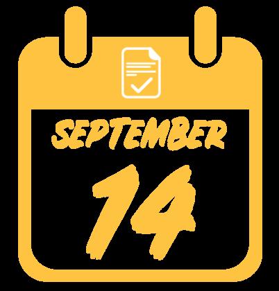 September 14