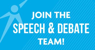 Join the speech & debate team!