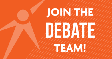 Join the debate team!