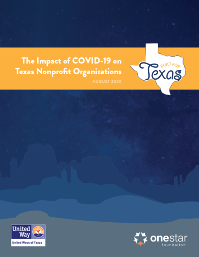 Report: Impact of COVID-19 on Texas Nonprofit Organizations