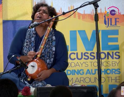 Morning music with Shruti Vishwanath at JLF Colroado 2019