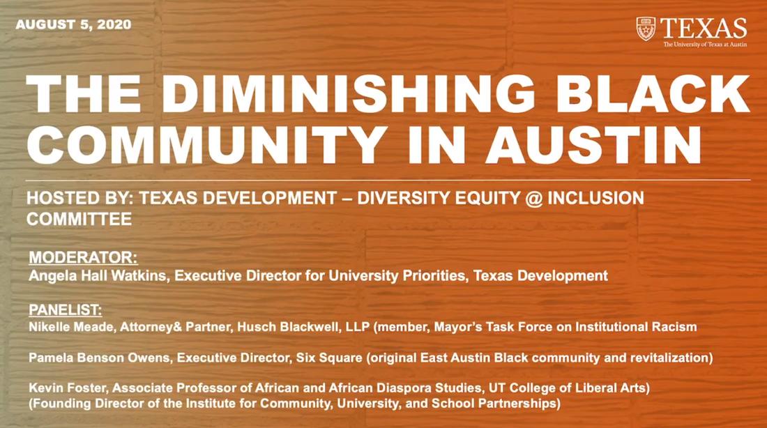 The Diminishing Black Community in Austin