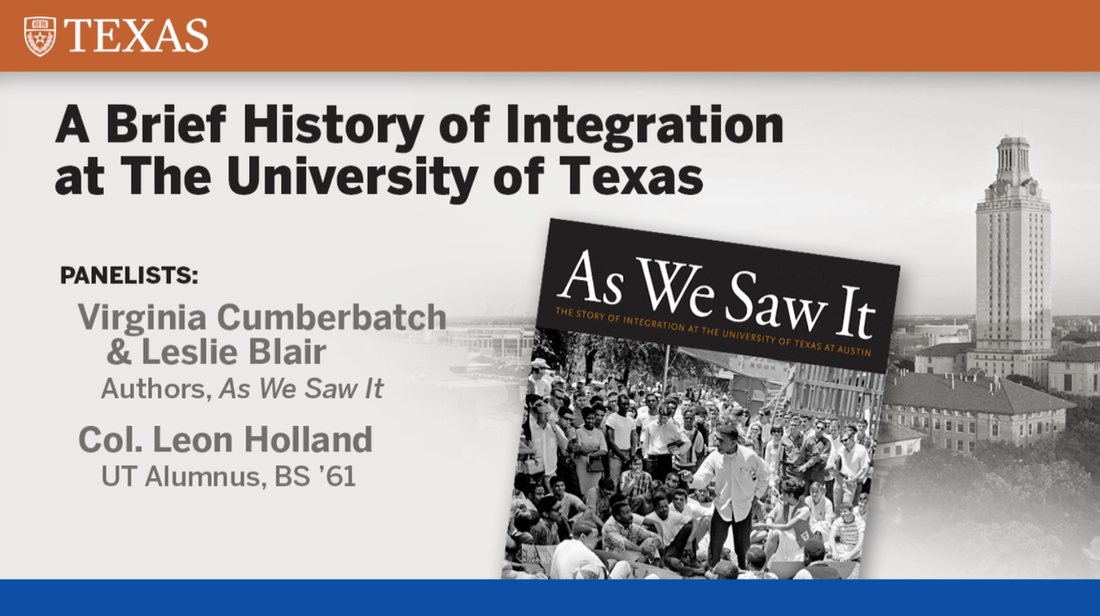 A Brief History of Integration at The University of Texas at Austin