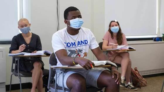 Denison students return to campus