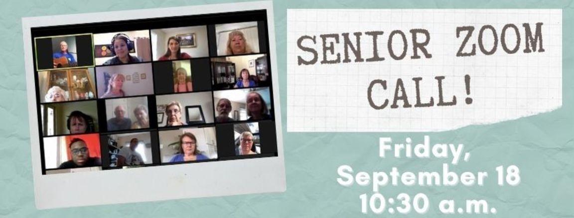 Senior zoom wordpress event link
