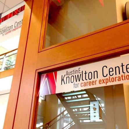 The Austin E. Knowlton Center for Career Exploration