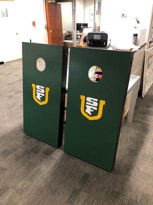 USF cornhole set
