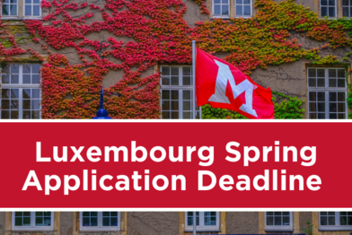 Luxembourg Spring Application Deadline