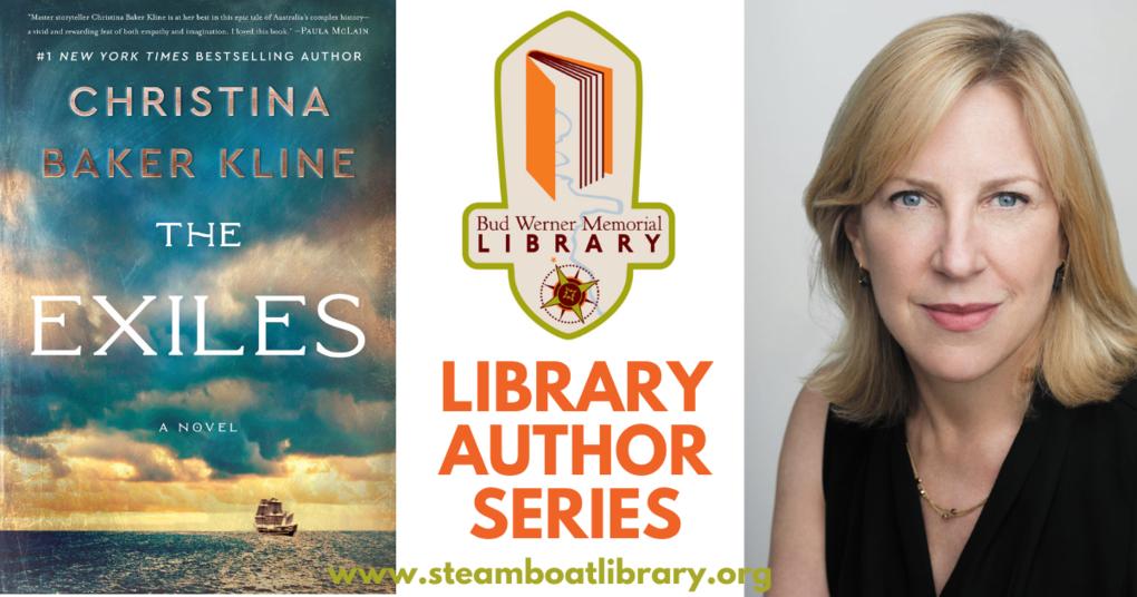 Library Author Series: Christina Baker Kline