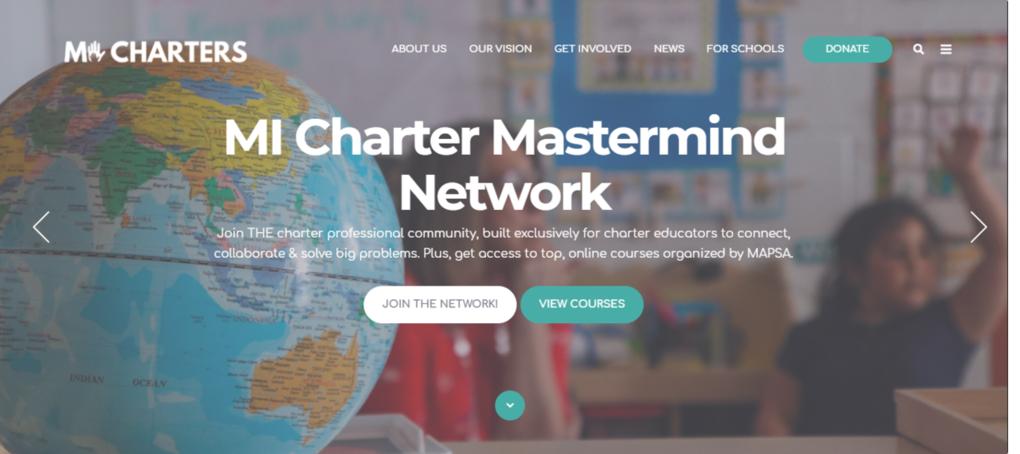 MI Charter Mastermind MAPSA logo