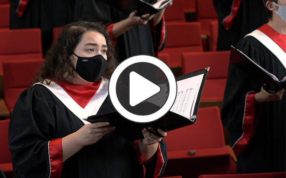 Video of Central College's A Cappella Choir