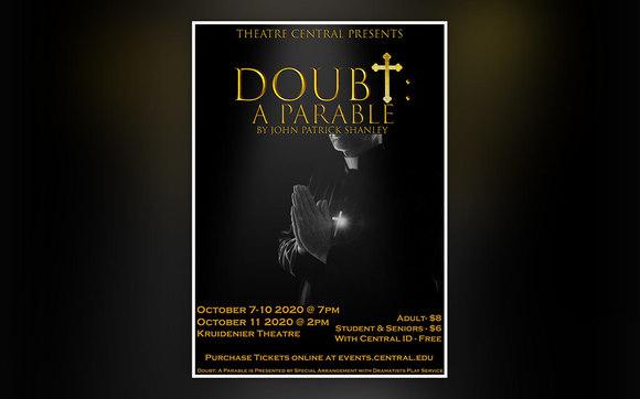 Doubt, A Parable theatre promotional image