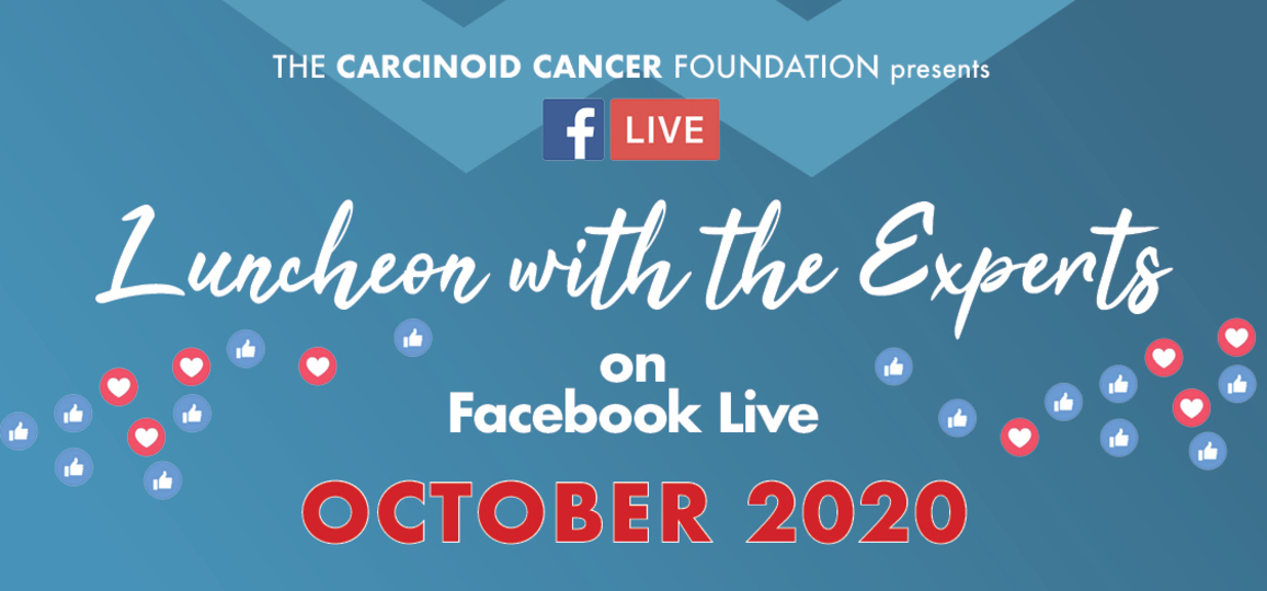 Luncheon with the Experts on Facebook LIVE - August 2020