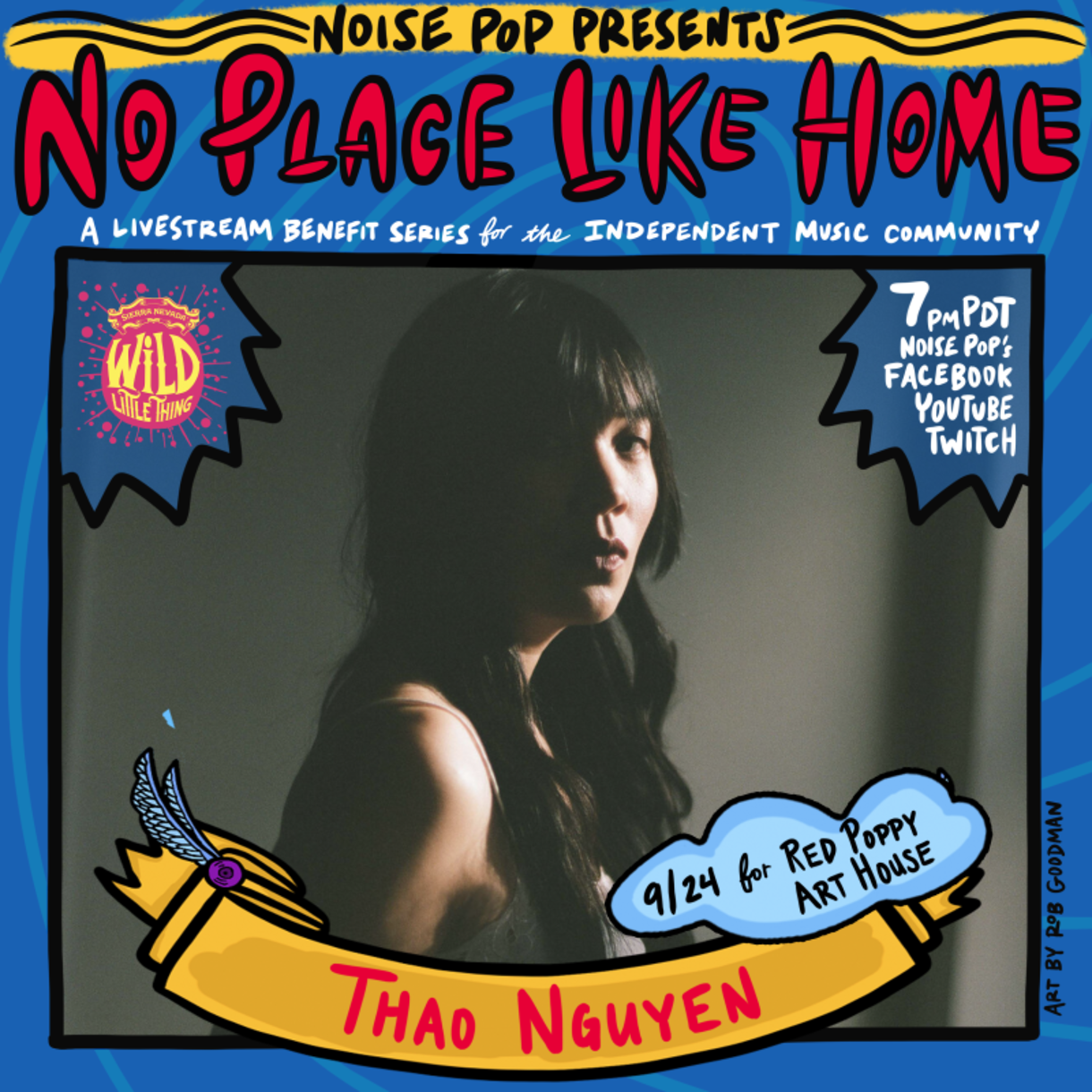 Noise Pop presents No Place Like Home with Thao Nguyen