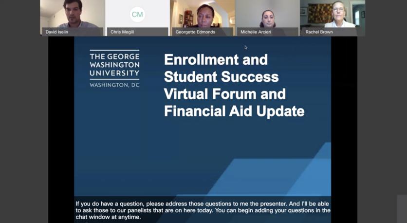 ESS and Financial Aid Virtual Forum