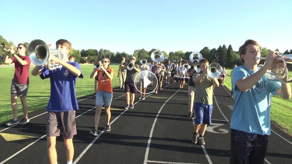 HS marching bands lead the way as activities resume