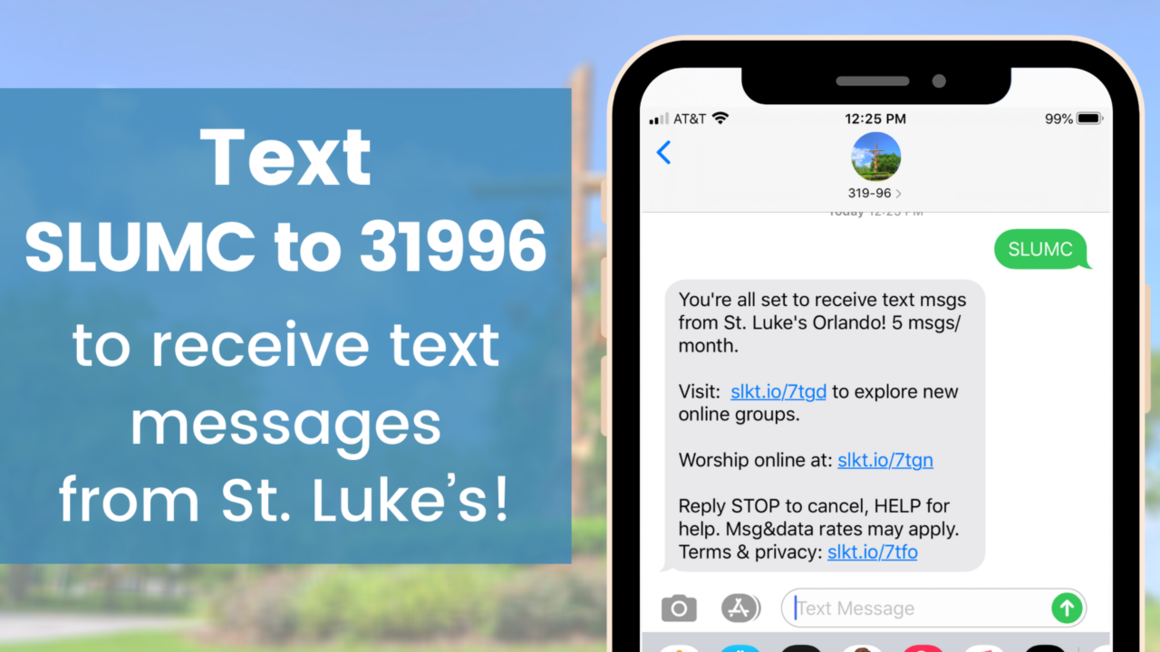 Opt-in for Texts webpage