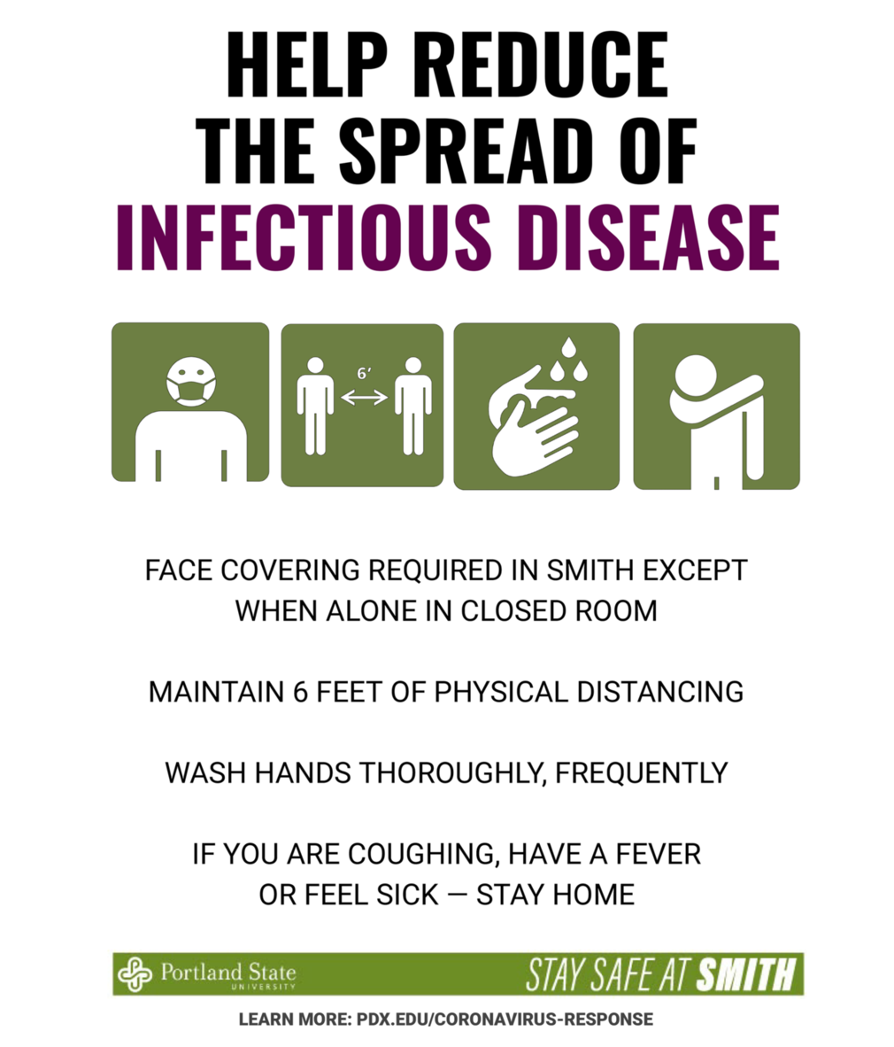 Sample of public health signage coming to Smith.
