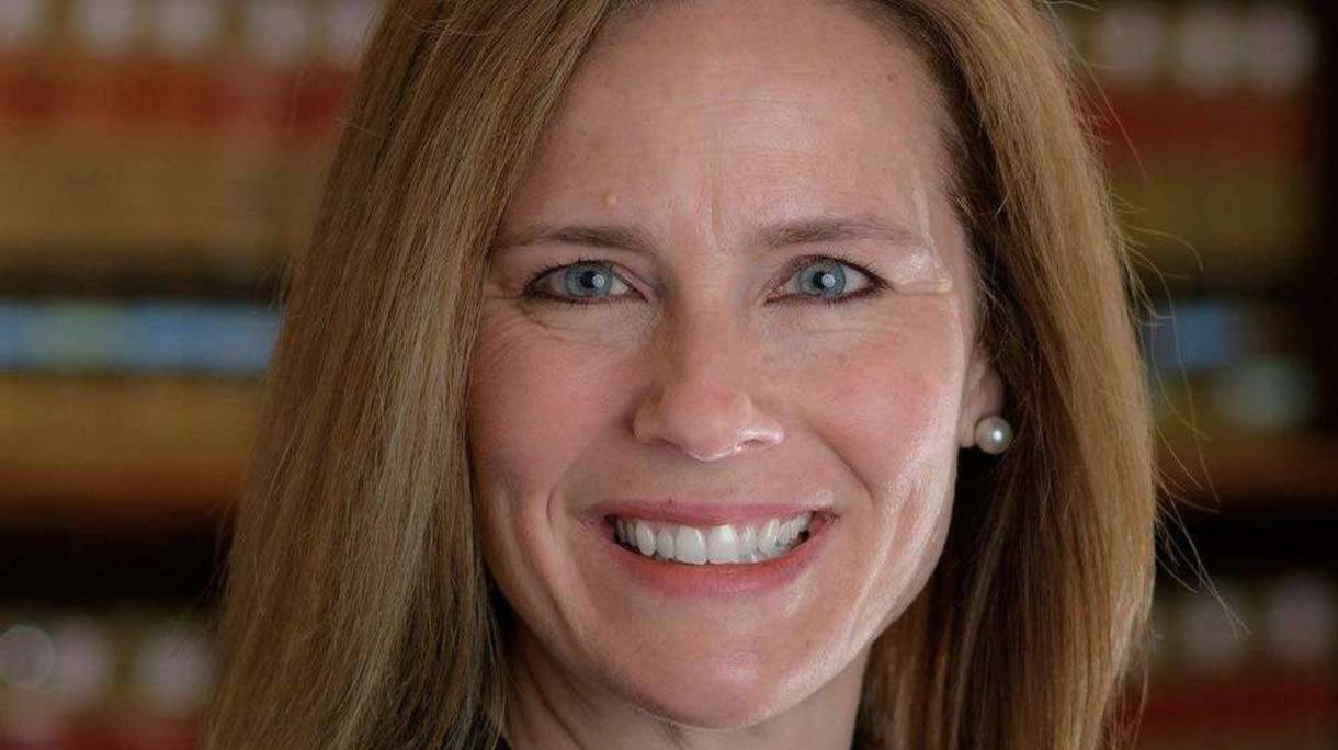 Photo of Amy Coney Barrett, U.S. Supreme Court nominee