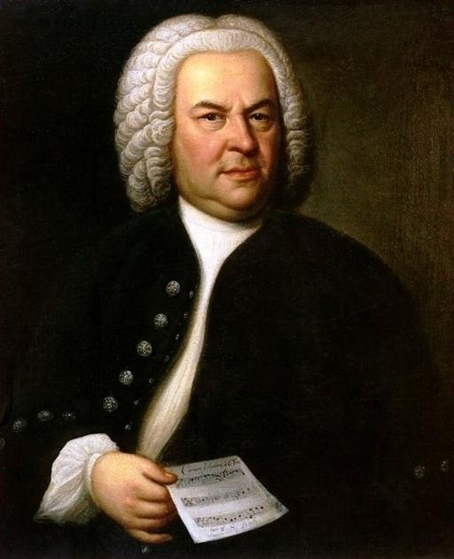 Portrait of Bach