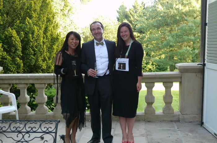 Adrienne Chang, Thierry Leterre, and Katie Grady