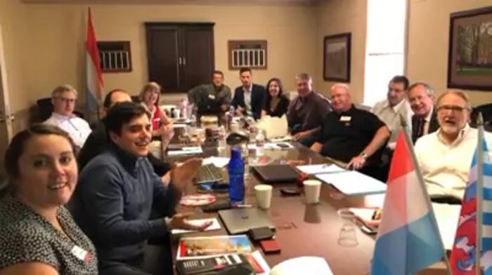 MUDEC Advisory Board at a meeting