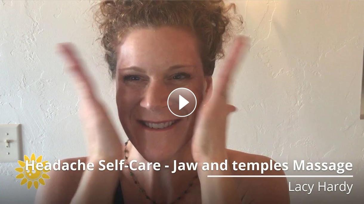 SELF-CARE JAW AND TEMPLES MASSAGE
