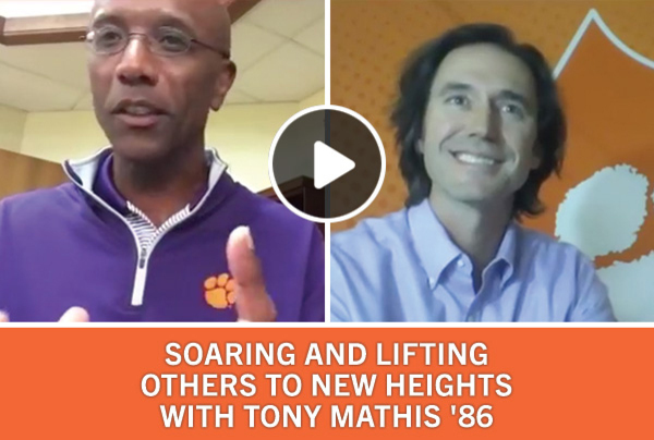 Soaring and Lifting others to new hights with Tony Mathis '86
