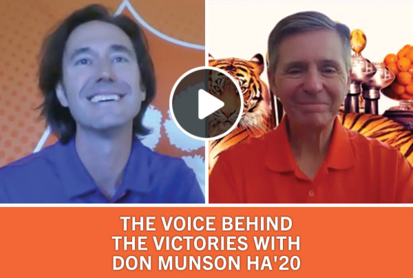 The Voice Behind the Victories with Don Munson HA '20