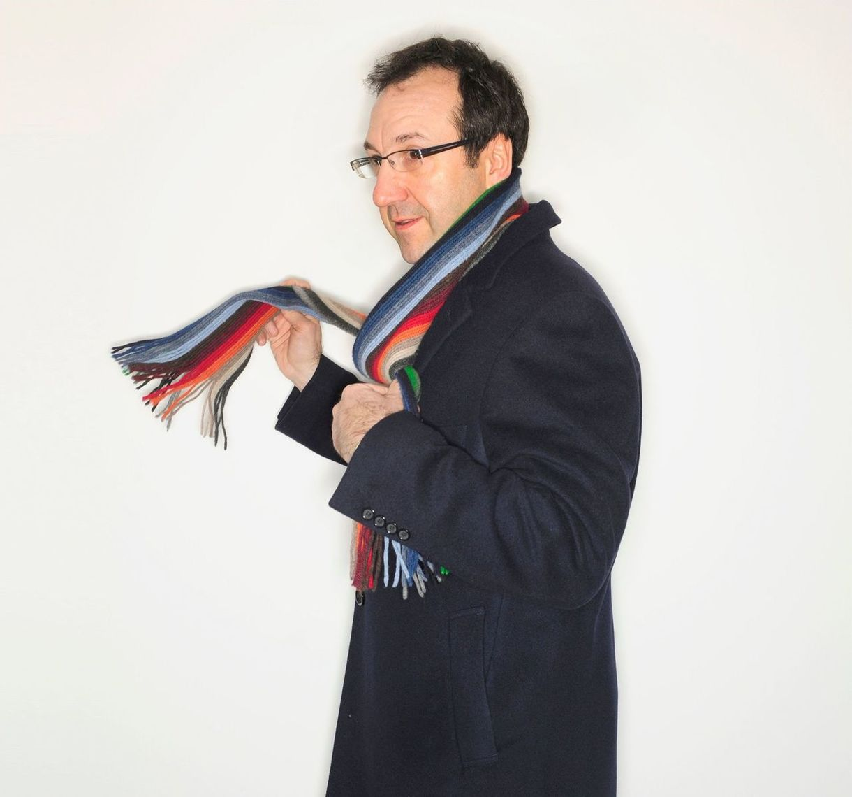 Thierry Leterre with a scarf