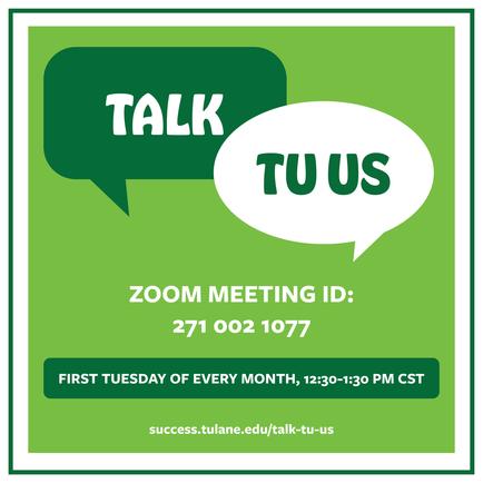 Talk TU Us Graphic