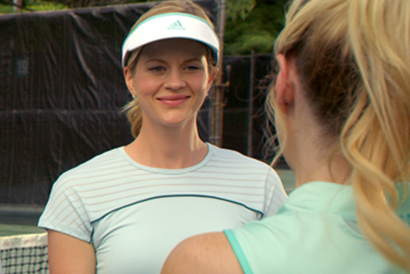 "Gina O'Brien-Carroll '86 makes directorial debut this fall with tennis comedy ""First One In"""