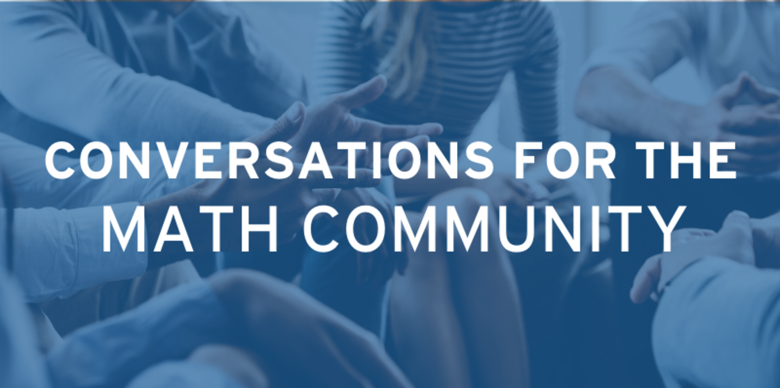 Conversations for the Math Community