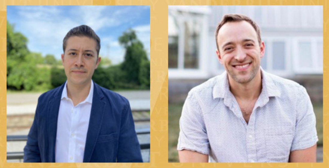 Jake Epstein and Evan Kowalski are VLS Bass Military Scholars for the Class of 2023
