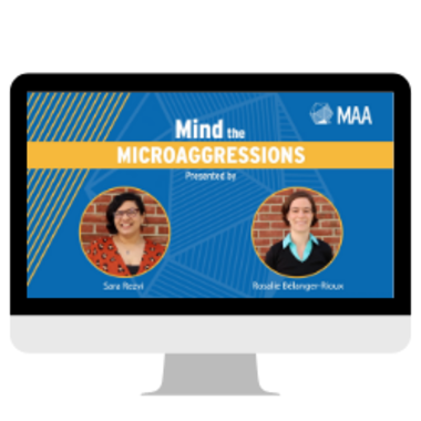 mind the microaggressions