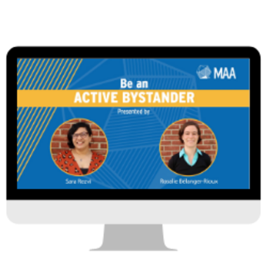 Be an active bystander
