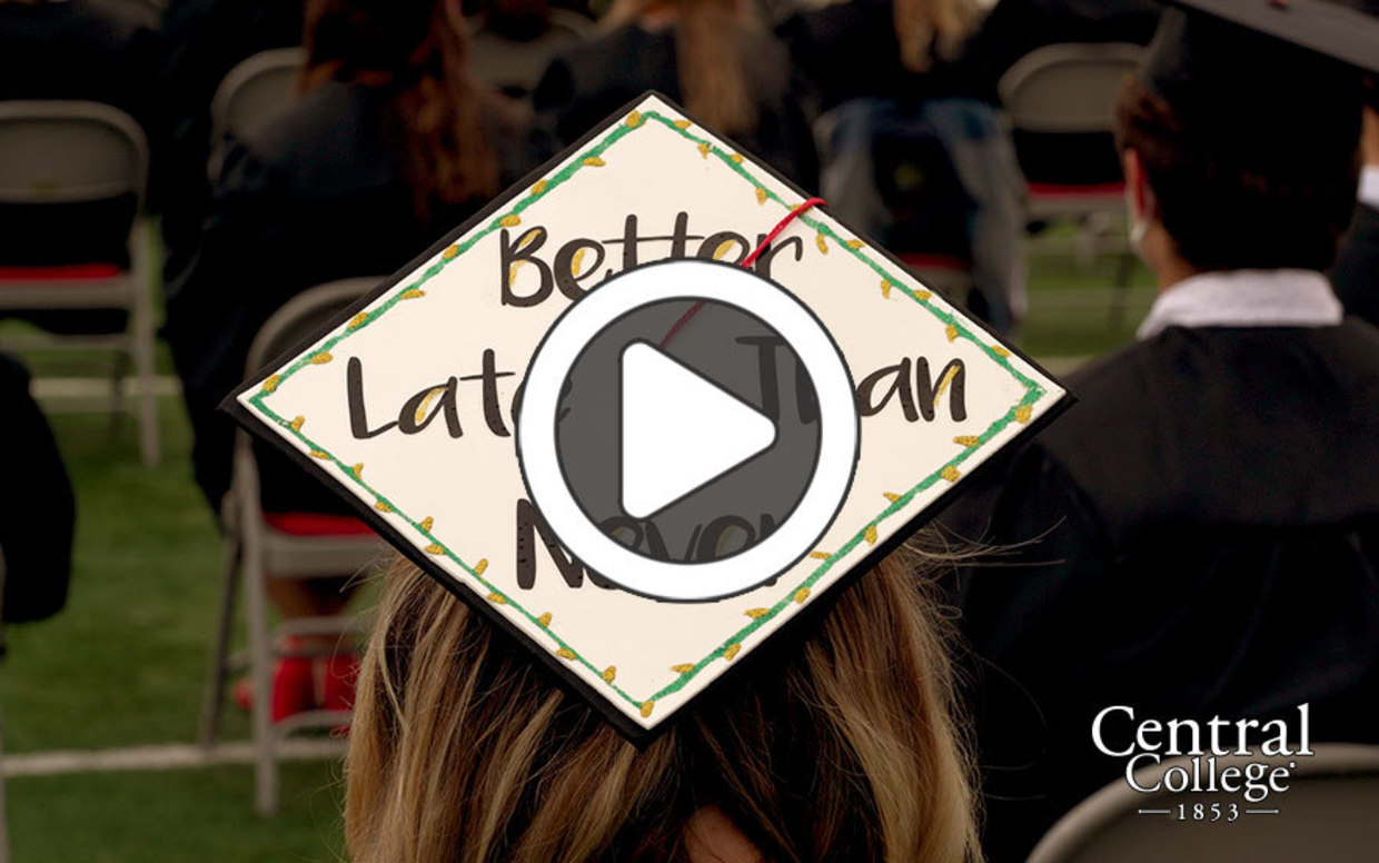Video highlights from the Central College Class of 2020 Commencement ceremony
